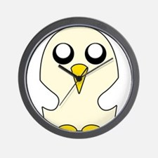Penguin Adventure time Wall Clock