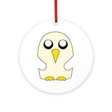Penguin Adventure time Round Ornament