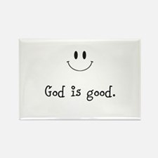 Cute Obama jesus Rectangle Magnet (10 pack)