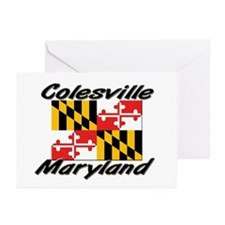 Colesville Maryland Greeting Cards (Pk of 10)