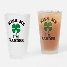 Funny Xander Drinking Glass