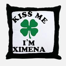Cute Ximena Throw Pillow