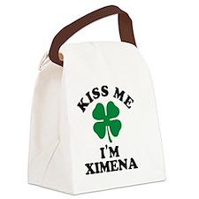 Unique Ximena Canvas Lunch Bag