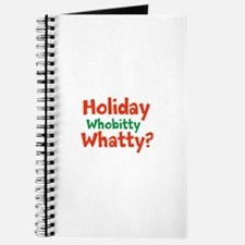 Holiday Whobitty Whatty Journal