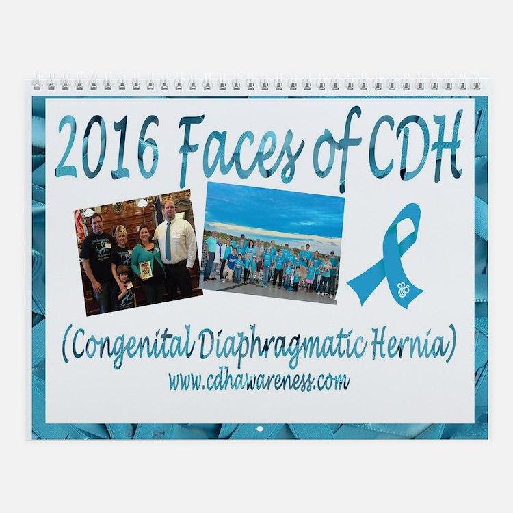 2016 Faces Of Cdh Wall Calendar