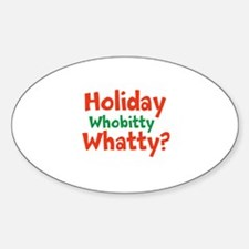 Holiday Whobitty Whatty Decal