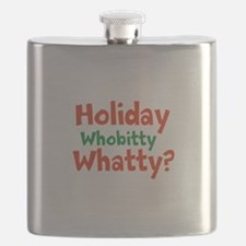 Holiday Whobitty Whatty Flask