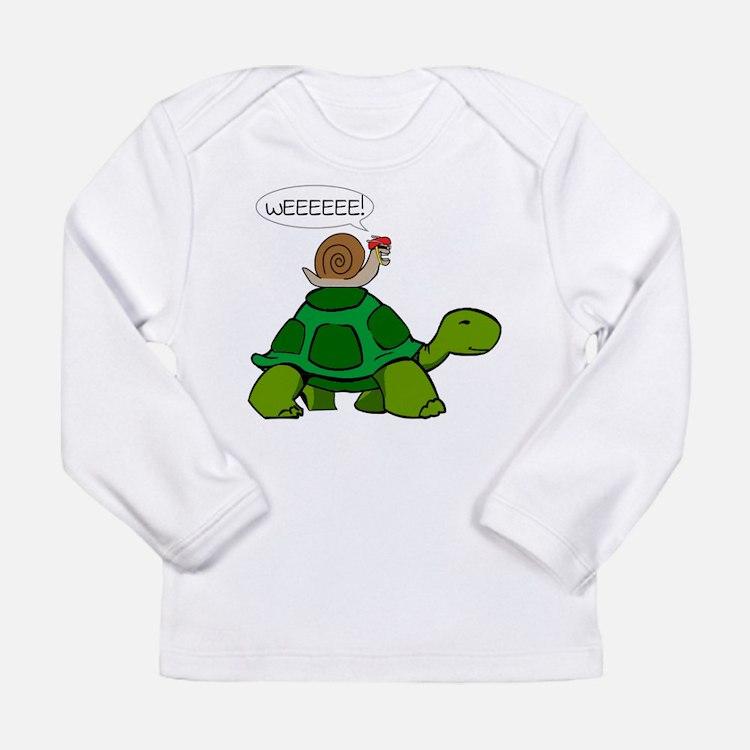 Cute Funny animals Long Sleeve Infant T-Shirt