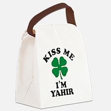 Unique Yahir Canvas Lunch Bag