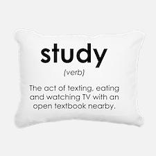 Running quotes Rectangular Canvas Pillow