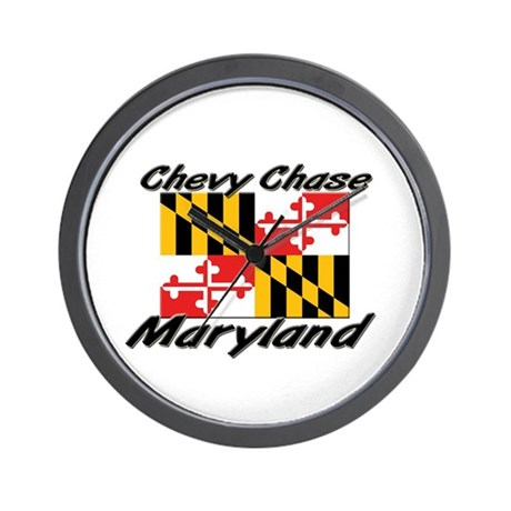 Chevy Chase Maryland Wall Clock