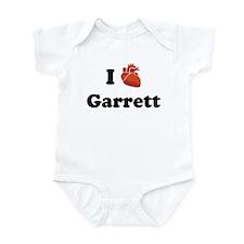 I (Heart) Garrett Infant Bodysuit