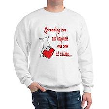 Spreading Love Cows Sweatshirt
