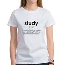 study (verb) T-Shirt
