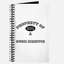 Property of a Music Director Journal