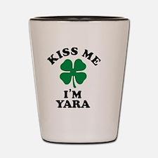 Funny Kiss me Shot Glass