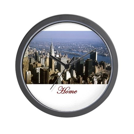 NYC Home Wall Clock