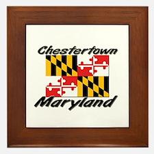 Chestertown Maryland Framed Tile