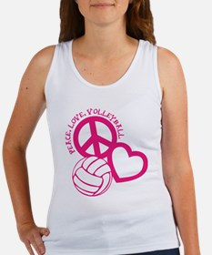 Cool Volleyball girl Women's Tank Top