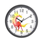 Shining Unicorn Wall Clock