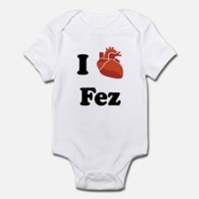 I (Heart) Fez Infant Bodysuit