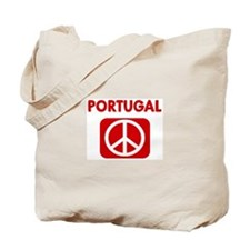 PORTUGAL for peace Tote Bag