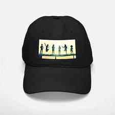 Happy Children Playing Baseball Hat