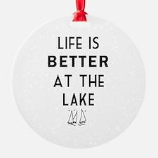 Lake Life Ornament