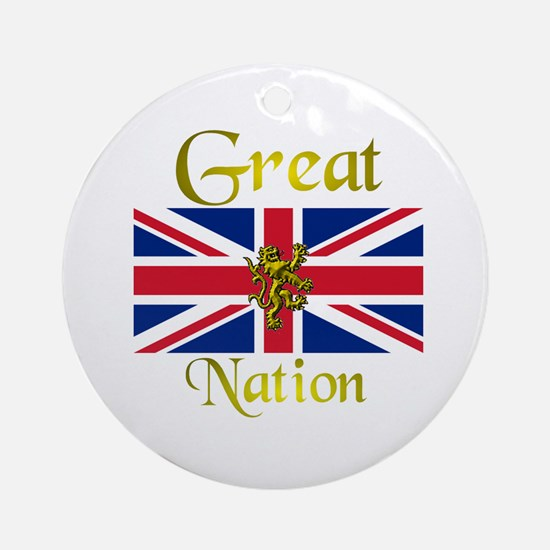 Great Nation. Ornament (Round)