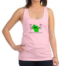 Cute Wisconsin green bay Racerback Tank Top