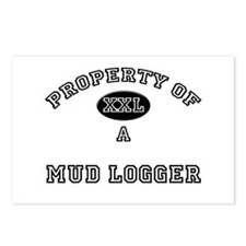 Property of a Mud Logger Postcards (Package of 8)
