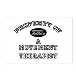 Property of a Movement Therapist Postcards (Packag