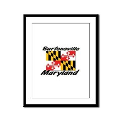 Burtonsville Maryland Framed Panel Print