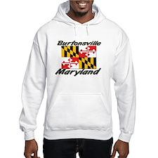 Burtonsville Maryland Hoodie
