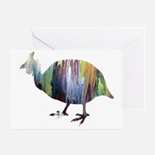 Chicken silhouette Greeting Card
