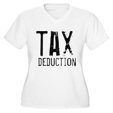 Tax Deduction Accountant Plus Size T-Shirt