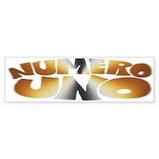 BEAR - Numero Uno - Bumper Bumper Sticker