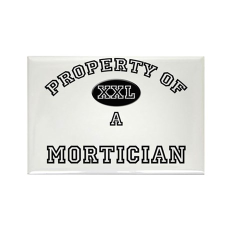Property of a Mortician Rectangle Magnet (10 pack)