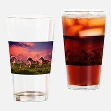 HAFLINGER HORSES Drinking Glass