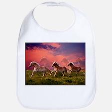 HAFLINGER HORSES Bib