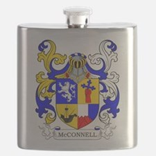 McConnell Family Crest Flask
