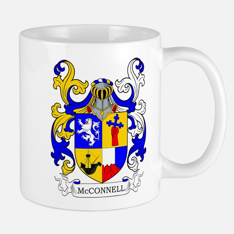 McConnell Family Crest Mugs