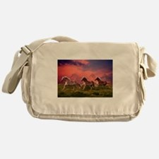 HAFLINGER HORSES Messenger Bag