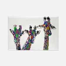 Giraffes in New Pajamas Magnets