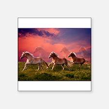 HAFLINGER HORSES Sticker