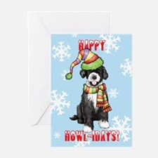 Cute Pwd christmas Greeting Cards (Pk of 20)