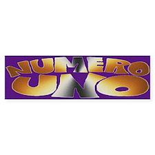 BEAR - Numero Uno Bumper Bumper Sticker