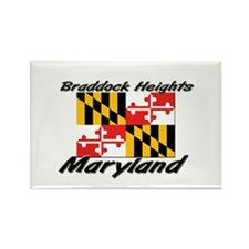 Braddock Heights Maryland Rectangle Magnet