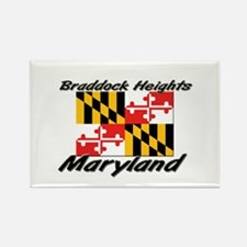 Braddock Heights Maryland Rectangle Magnet