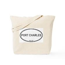 Port Charles, NY Tote Bag